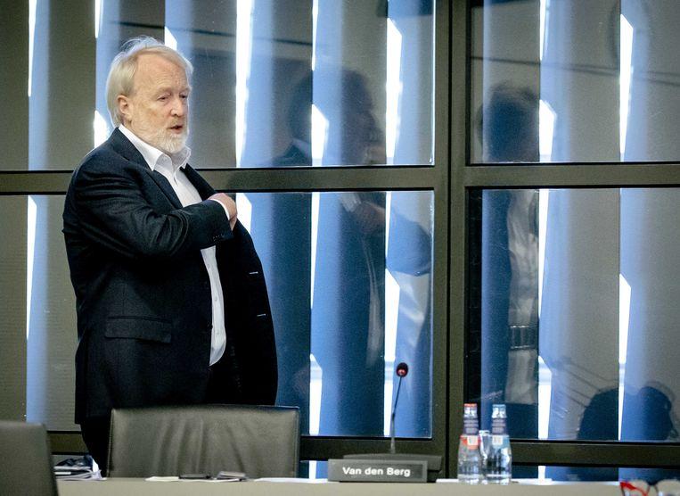 Jaap van Dissel, directeur van het Centrum Infectieziektebestrijding van het RIVM, praat de Tweede Kamer bij over de ontwikkelingen rond het coronavirus, voorafgaand aan het Kamerdebat. Beeld ANP