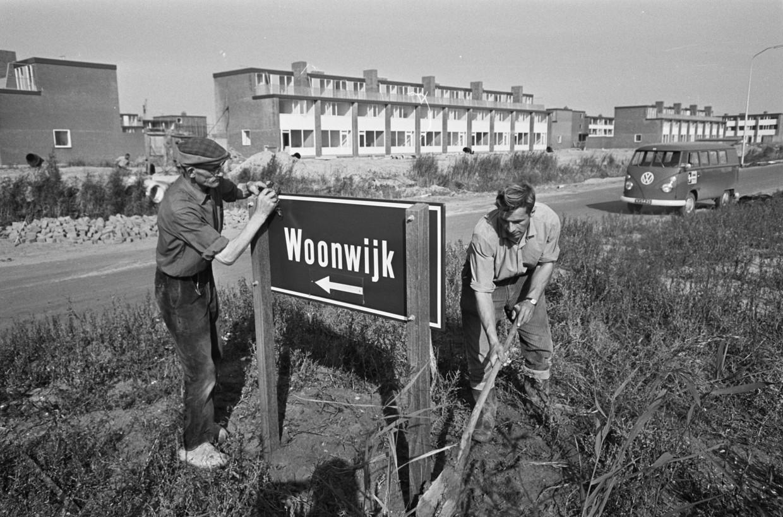 September 1967, het begin.  Beeld Nationaal Archief