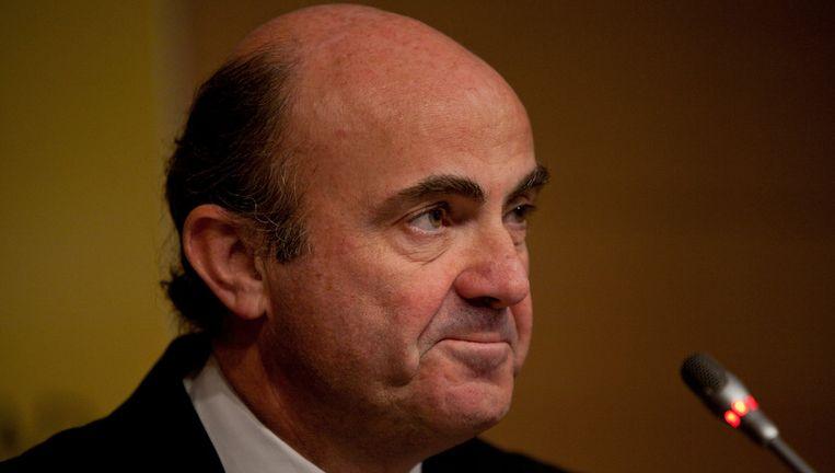 Luis de Guindos, de Spaanse minister van Economie.