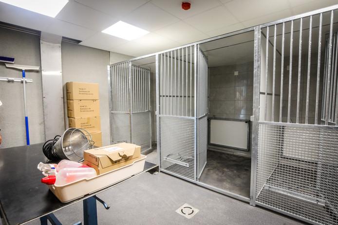 De ruimte voor nabehandeling na een operatie.