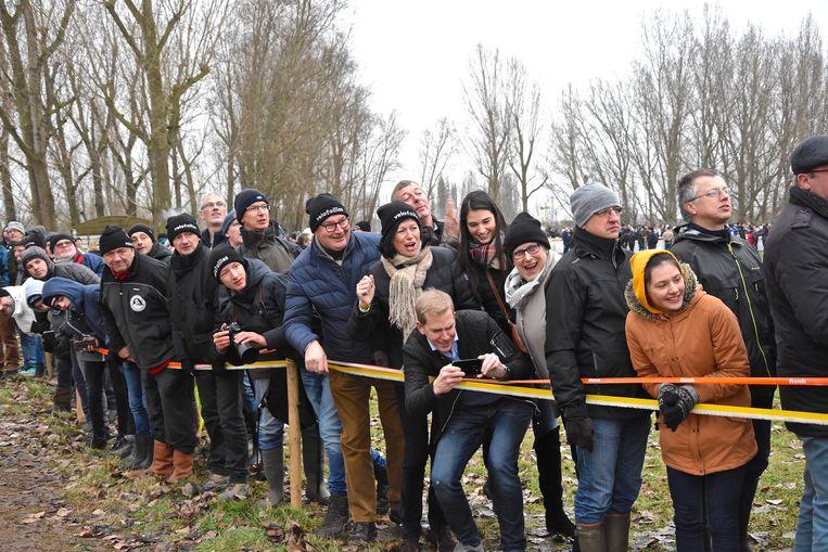 Hexia cyclocross Gullegem - supporters