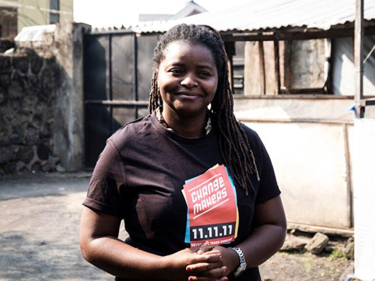 Passy Mambalama komt op maandag 11 november vertellen over haar werk in Congo.
