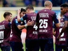 Griekse goalgetters bezorgen Willem II zege in kletsnat Sittard