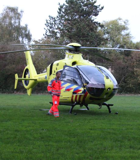 Traumahelikopter in Boskoop geland voor spoedsituatie