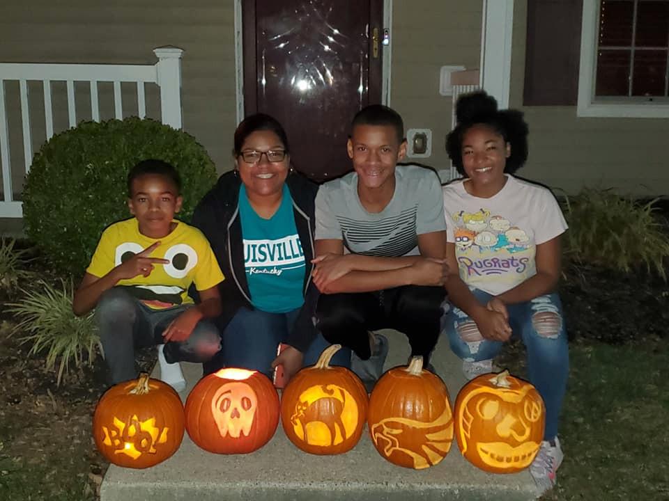 Marcus's vier kinderen