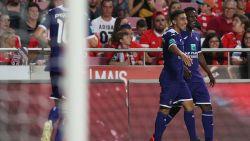 Kompany ziet hoe jonkies Anderlecht aan vertrouwen winnen in Benfica: 1-2