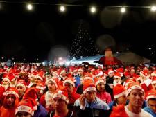 Kerstmannen rennen in IJsselstein voor goede doel