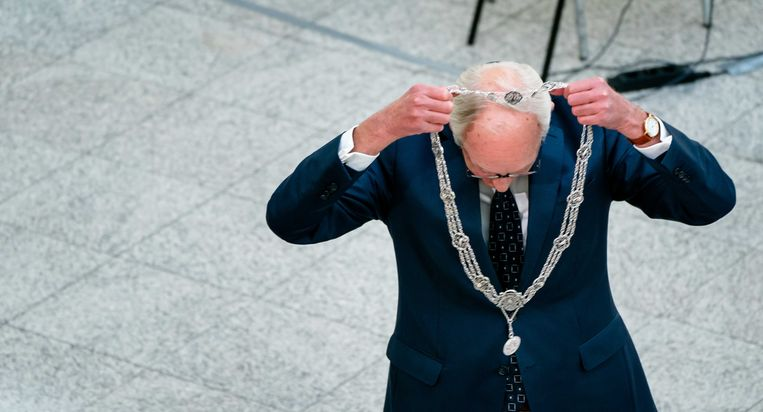 Waarnemend burgemeester Johan Remkes. Beeld ANP