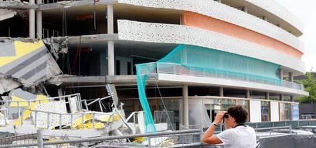 Onderzoeksraad voor Veiligheid onderzoekt instorten parkeergarage Eindhoven Airport