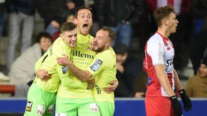 VIDEO. Moeskroen klopt KV Oostende ondanks goal Tom De Sutter en zet rode lantaarn Lokeren nu al op zes punten