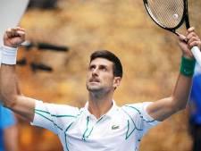 Djokovic avec autorité, Tsitsipas sans jouer, Berrettini et Dimitrov évincés
