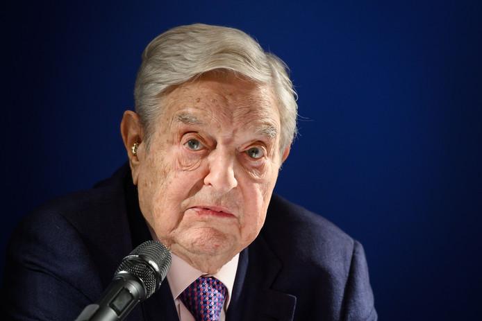 George Soros, l'un des hommes d'affaires à l'origine de la lettre.