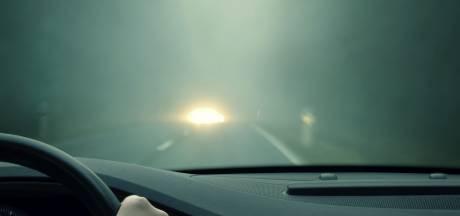 Code geel voor lokale gladheid en zeer dichte mist in het Zuidoosten