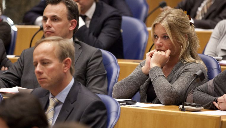 Jeanine Hennis-Plasschaert (VVD) stemde in 2011 tegen het aanpakken van de weigerambtenaar, nu is ze voor. Beeld ANP