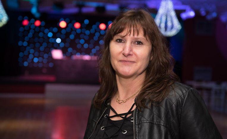 Conny Dewaele raakte zelf een groot deel van haar gehoor kwijt op het werk.