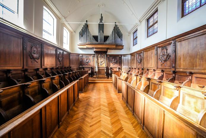 Brugge opening gerestaureerde kerk klooster Boeveriestraat