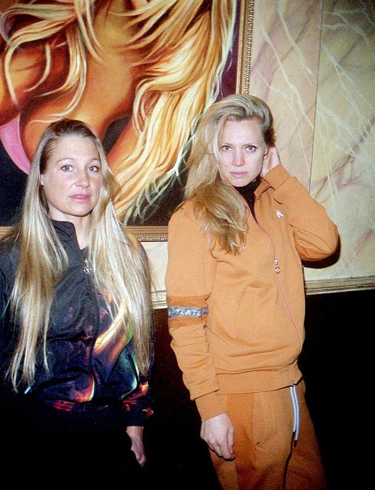 Jolene (links) met filmmaker Elza Jo.