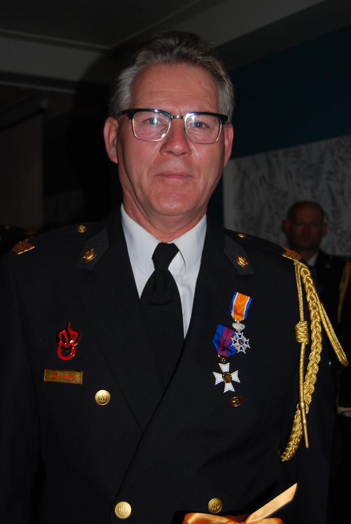 Koninklijke onderscheiding voor Hans Seijkens