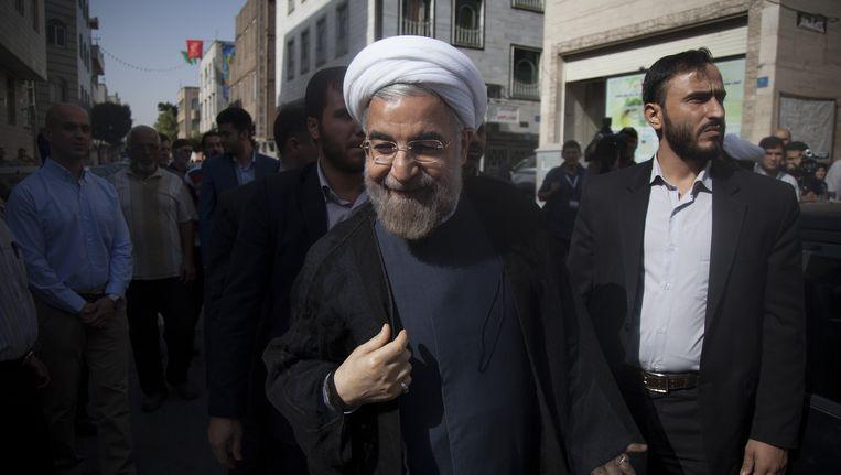 De nieuwe president van Iran, Hassan Rohani Beeld Getty Images