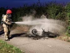 Brandende brommer en weigerende slang zorgen voor hachelijke situatie bij Creil, incident loopt met sisser af