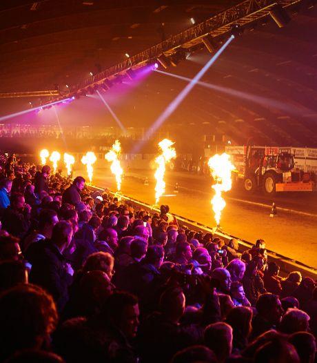 Nu al streep door tractorpulling Zwolse IJsselhallen in februari 2021