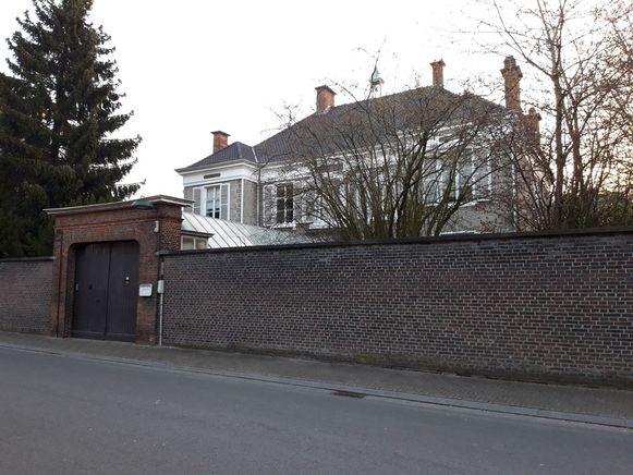 Het straatbeeld van de dekenij Evergem.