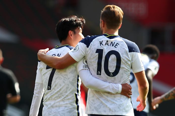 Harry Kane en Son.