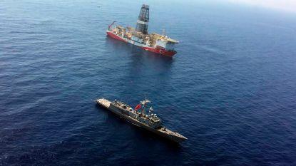 """Turkije niet onder de indruk van EU-sancties: """"Gasboringen voor Cyprus zullen niet stoppen"""""""
