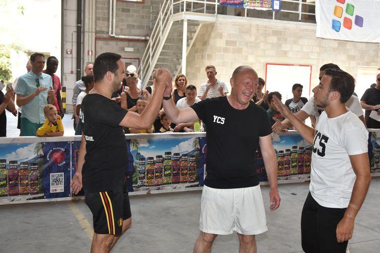 Burgemeester Bonte heeft duidelijk het beste van zichzelf gegeven tegen de vrienden van Yannick Carrasco.