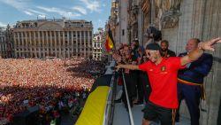 IN BEELD. Zo verliep de heerlijke huldiging voor Rode Duivels waar liefst 40.000 fans op afkwamen
