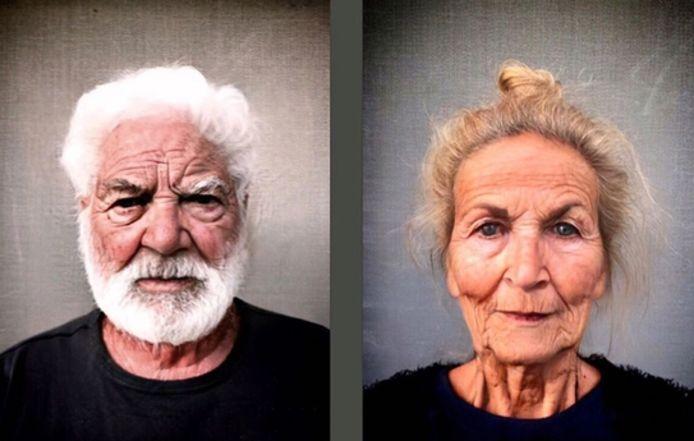 Bekende gebruikers van FaceApp: acteurs Stanny Crets en Ann Van Den Broeck.