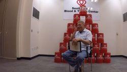 Man doneerde al 470 liter bloed en kon zo duizenden levens redden