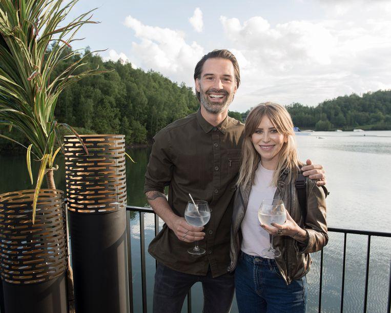 Dinner on the lake, Sean Dhondt en vriendin Alisson