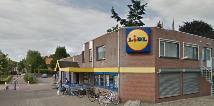 De Lidl aan de St. Jansstraat in Uden.