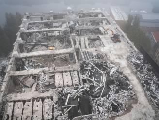 IN BEELD. Belgacomtoren verdwijnt steen voor steen