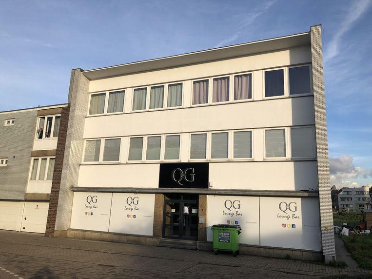 De waterpijpbar Le QG in Zaventem.