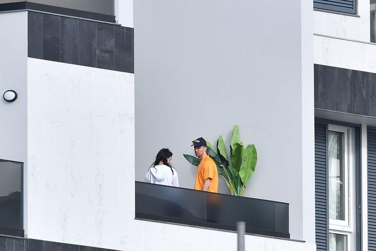 Cristiano met Georgina op 13 maart.