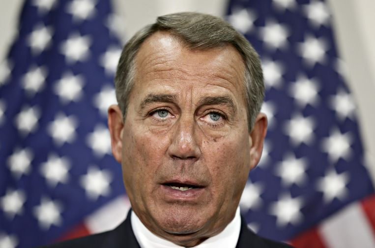 John Boehner. Beeld ap