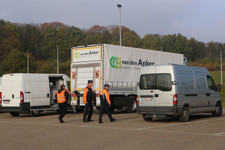 22 voertuigen werden geselecteerd met de ANPR-camera. Zij haalden voor een totaal van 8159,43 euro aan achterstallige belastingen op.