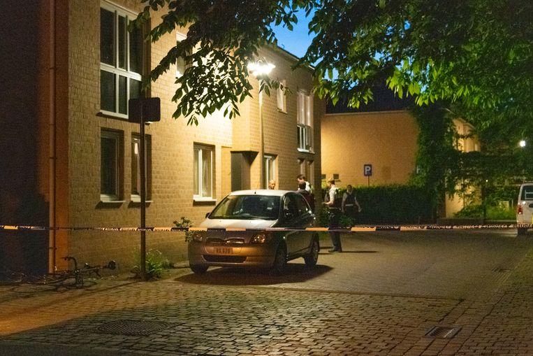 Het slachtoffer werd maandagavond twee keer gestoken met een mes aan de Smalleweg in Boechout.