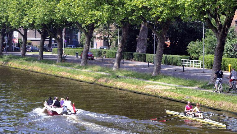 De binnenstad van Delft Beeld anp