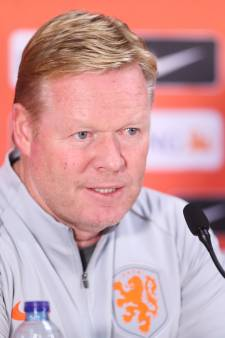 Koeman tempert optimisme: 'Oranje is er nog lang niet'