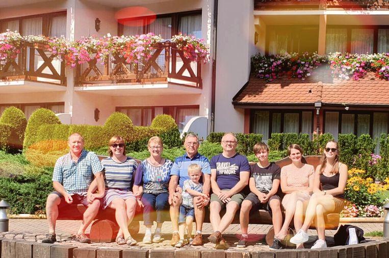 Etienne en Julia vierden hun vijftigste huwelijksverjaardag in de Elzas.