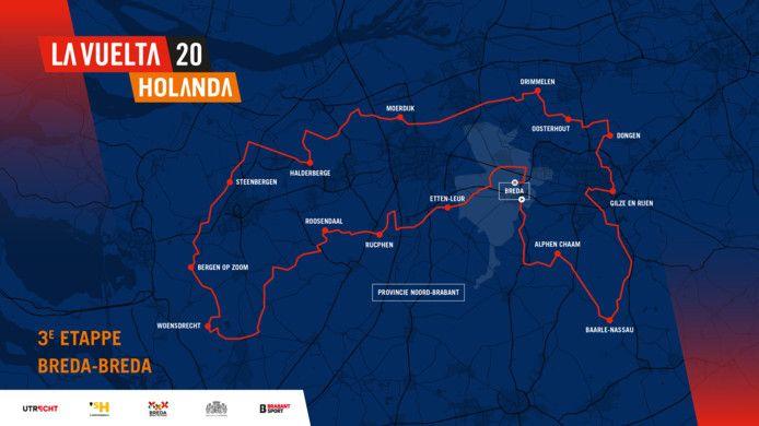 Derde etappe Breda - Breda
