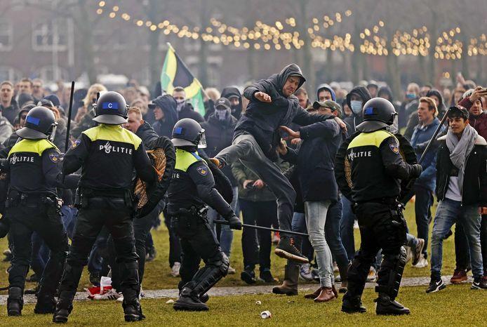 """""""Illegale demonstratie"""" Museumplein Amsterdam door de staat zelf georganiseerd"""