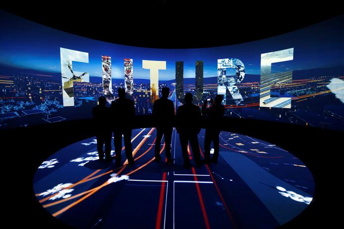 Bezoekers kunnen in 3D vast een kijkje nemen.