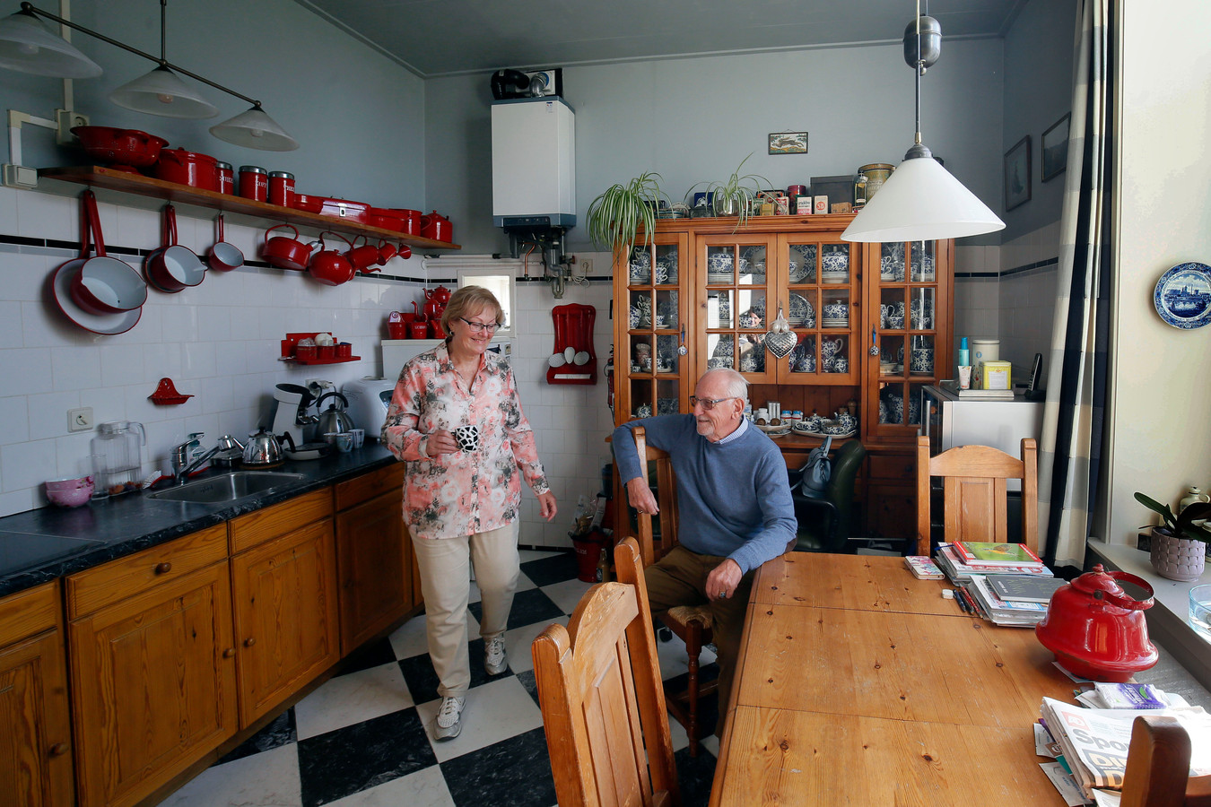 Hetty en Huub wonen in de Dalempoort.