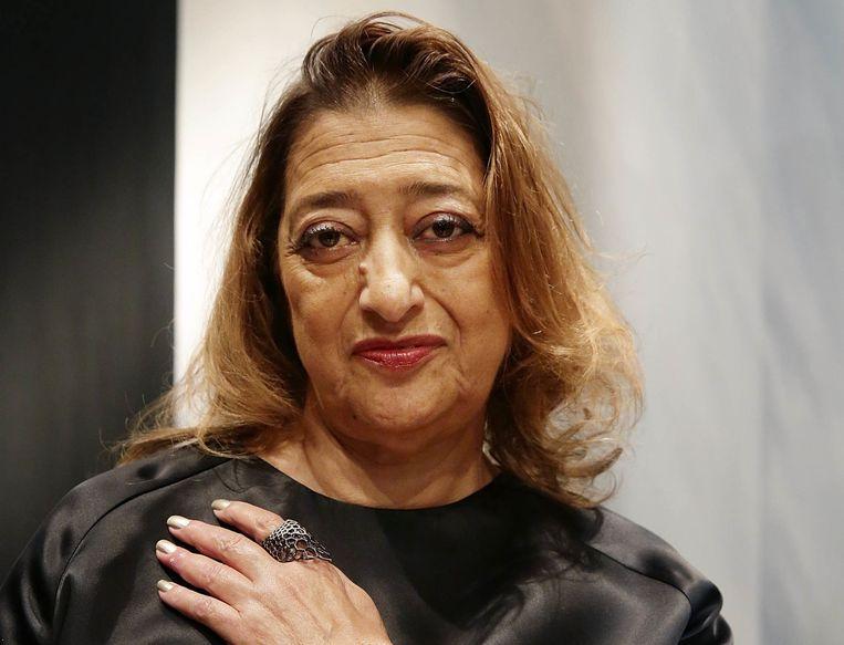 Architectuur: Zaha Hadid. 'Mijn favoriet? The Peak, een club op een bergtop.' Beeld Hollandse Hoogte
