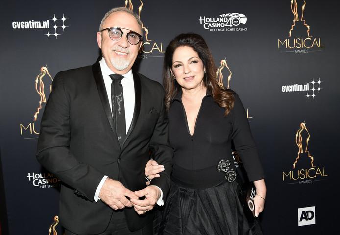Gloria en haar echtgenoot Emilio Estefan.