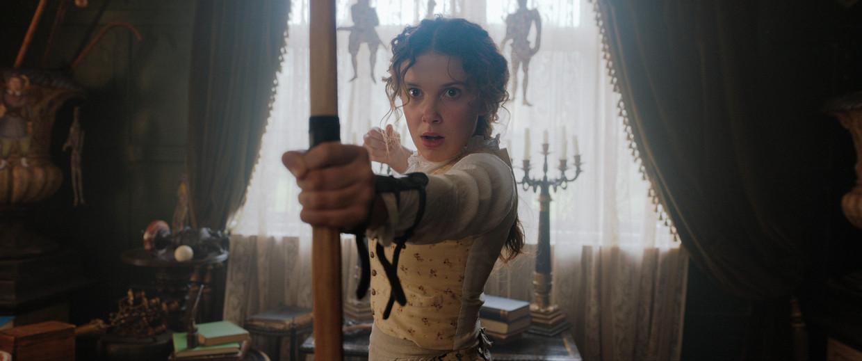 Enola Holmes Beeld Netflix
